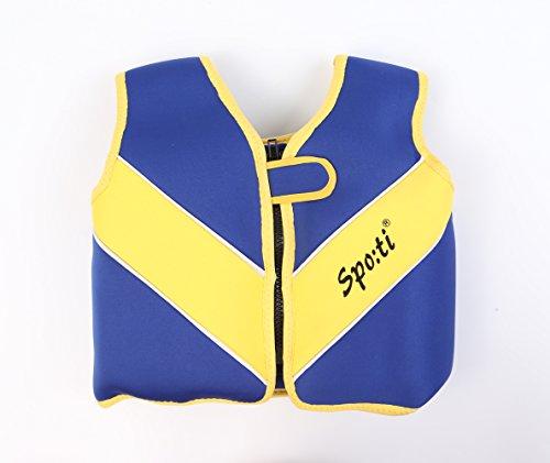 Titop Professional Babies' Swim Vest, Children's Swim Jacket, Swimming Training Buoyancy Aid (Navy Blue Small)