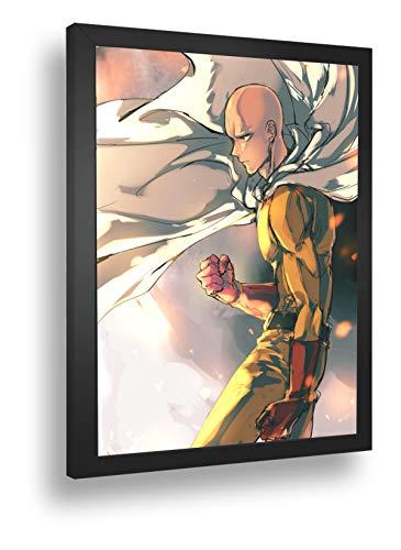 Quadro Decorativo Poster Anime Saitama One Punch Man 03