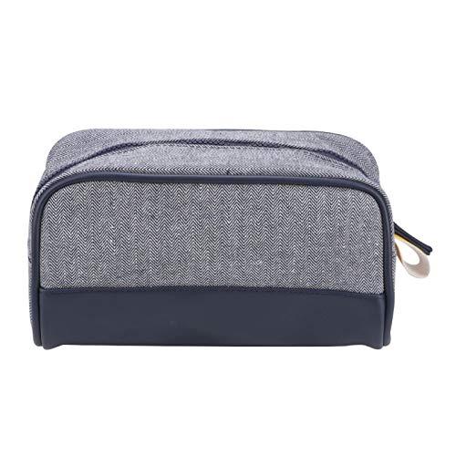Bolsas de cosméticos Cremallera de plástico para viajes desde casa 24x13x16cm / 9.4x5.1x6.3in(navy blue)
