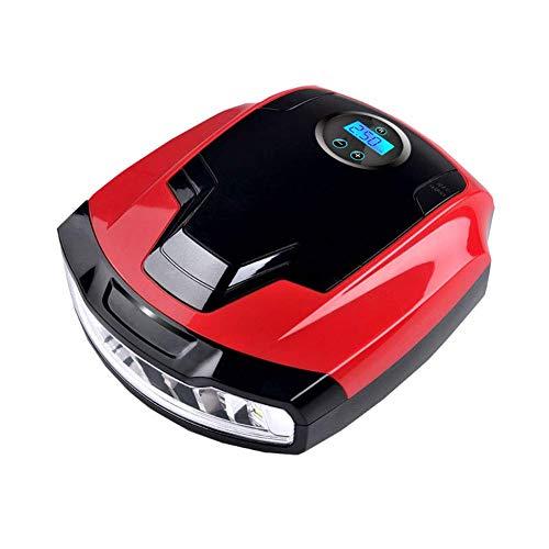 AOIWE Digital Portátil neumático del compresor de Aire de la Bomba del neumático de Coche for inflar con Pantalla LCD Digital y luz LED