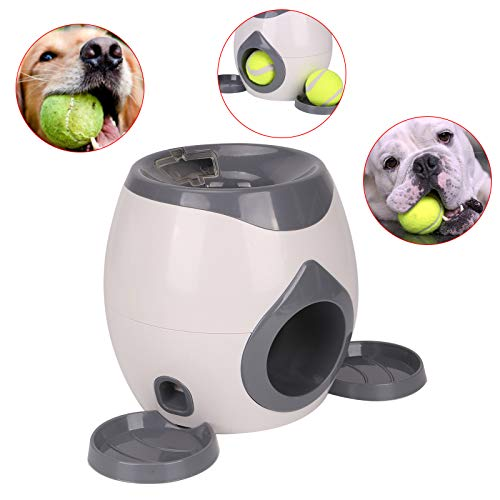 MorNon Automatic Interactive Ball Tennis Dog Hyper Pet Toys Training Feeding Reward Dog Ball Dog...