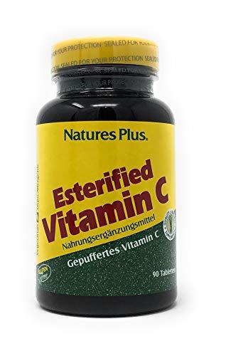 Natures Plus Esterified Vitamin C (gepuffertes Vitamin C) 675 mg 90 Tabletten