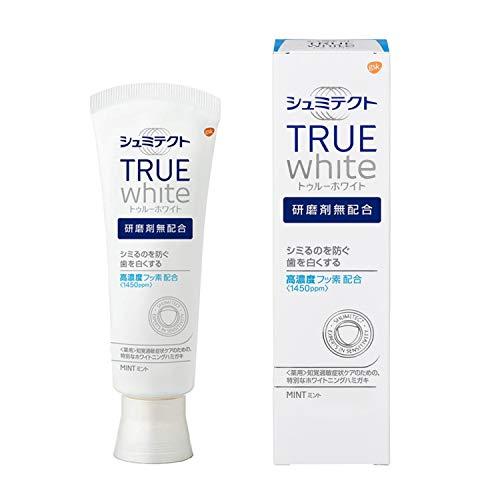【医薬部外品】シュミテクトトゥルーホワイト知覚過敏予防歯磨き粉80g単品