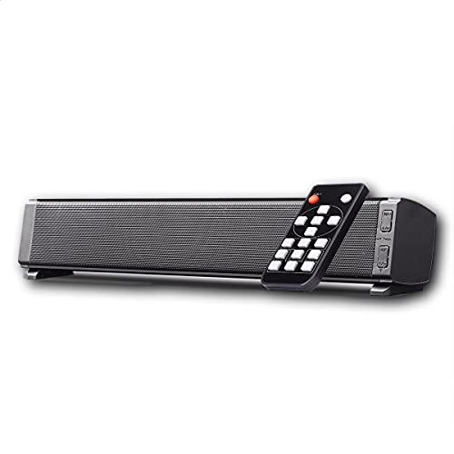 Soundbar-Lautsprecher, tragbare Bluetooth-PC-Soundbar und USB-Stromversorgung für TV, HDMI/Optisch/Aux/USB-Eingang, Surround-Sound-System für TV und Heimkino