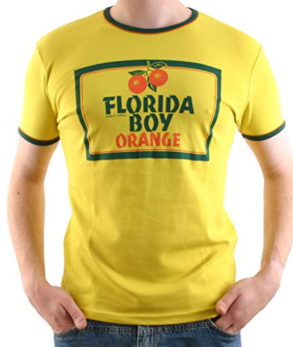 Logoshirt Florida Boy ORANGE - S