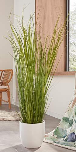 """Kunstpflanze """"Gras"""" 120 cm hohe künstliche Zierpflanze, Dekogras, täuschend echt"""