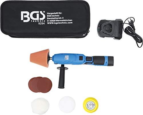 BGS technic BGS 9294 | Akku-Mini-Poliermaschinen-Satz | max. 2800 U/min | 12 V | 1500 mAh