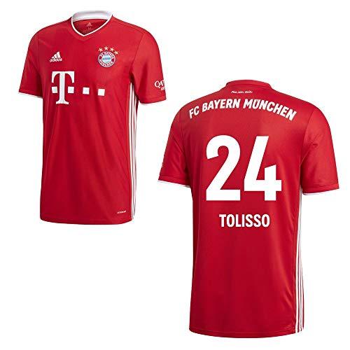 adidas FCB FC Bayern München Trikot Home Heimtrikot 2020 2021 Kinder Tolisso 24 Gr 152