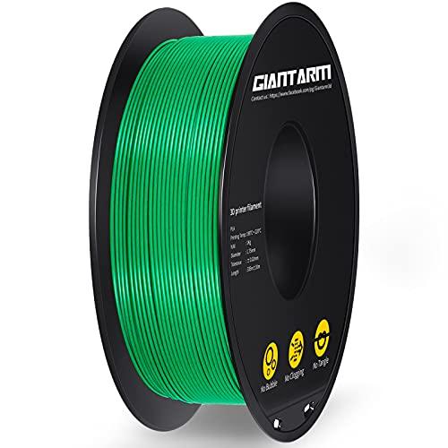 PLA Filament 1.75mm,GIANTARM 3D Drucker Filament PLA Grün 1kg Spool