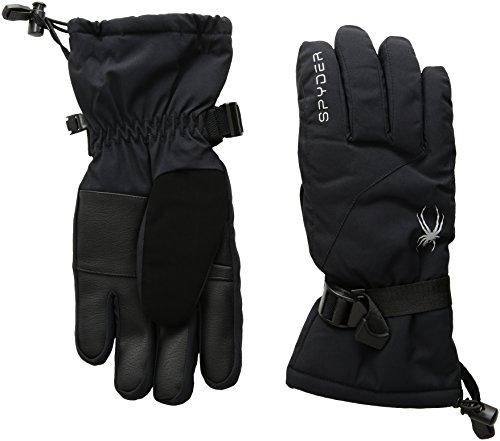 Spyder Damen Essential Ski Handschuh M schwarz/Silber
