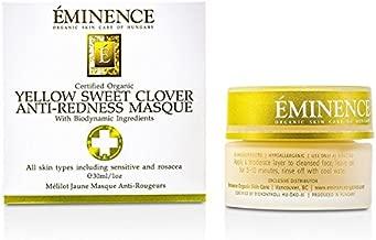Eminence Organic Skincare Yellow sweet clover anti-redness masque 1 oz, 1.0 Ounce