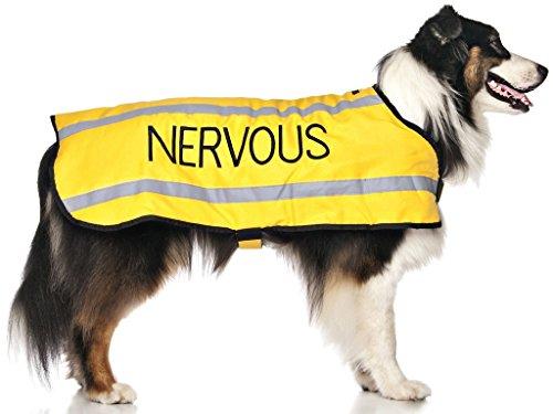 Dexil Limited Nervous Yellow Warm Dog Coats S-M M-L L-XL...