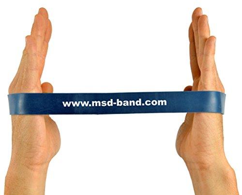 MSD Band Loop–Verde– Banda elástica cerrada extra fuerte para pilates, yoga, fitness.