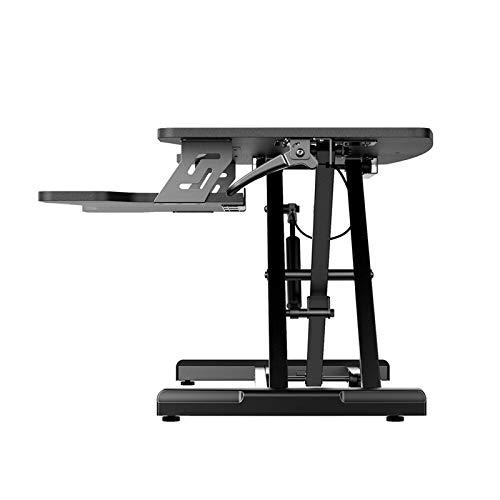 Stehpult Konverter Pneumatischer Hebetisch Stehpult Stehpult mit Griffkontrolle höhenverstellbar zweistufig DesignPC