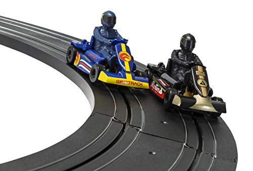 Scalextric Micro G1120 Karts 1:64 Scale Race Set