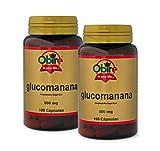 Obire | Glucomanano 500 mg | 100 Cápsulas (Pack 2 unid.)