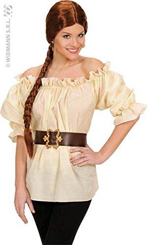 WIDMANN Camisa Beige Pirata Mujer - XL: Amazon.es: Juguetes y juegos