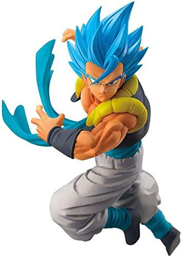 Banpresto dragon ball super chosenshiretsuden vol.5 super saiyan god super saiyan gogeta figure, multicolore