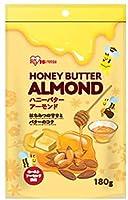 【10袋セット】アイリスフーズ ハニーバターアーモンド 180g