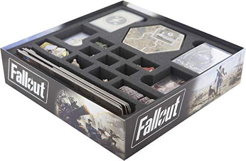 Feldherr Schaumstoff-Set kompatibel mit Fallout Brettspielbox