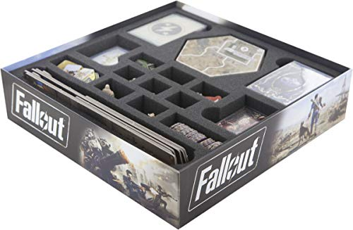 Feldherr Foam Tray Value Set Compatible with Fallout Board Game Box
