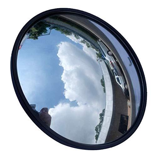 Espejo Convexo Espejos de seguridad El tráfico exterior gran angular, Espejo de esquina, Ronda interior del hotel del cajero del supermercado antirrobo Espejo, curvado de seguridad Espejos, amplíe su