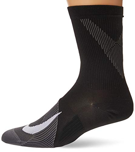 Desconocido Nike U Nk Spark LTWT Crew Calcetines, Unisex Adulto, White/(Reflective), 8-9.5
