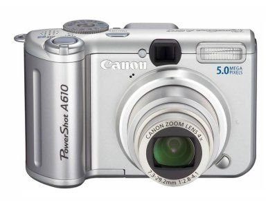 Canon PowerShot A610 Digitalkamera (5 MP)
