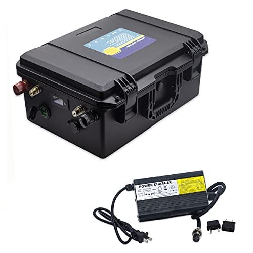 12V 100AH 150AH 200AH 250AH 300AH Lifepo4 paquete de baterías a prueba de agua 12V de iones de litio para el sistema solar/Motor Home/Barco/Carros de golf batería del coche (12V 250AH)