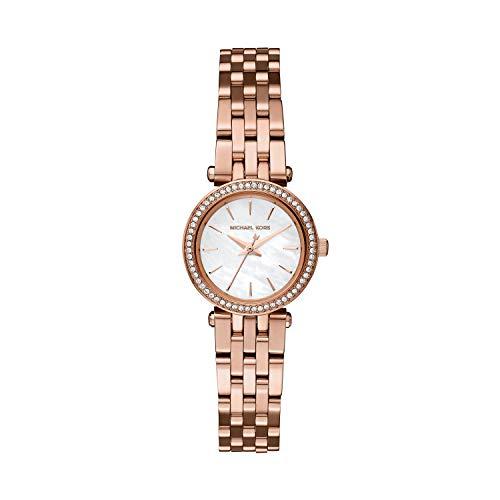 MICHAEL KORS Damen Analog Quarz Uhr mit Edelstahl Armband MK3832