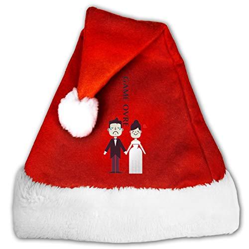 Sombrero de Papá Noel, para despedida de soltero, para fiestas de Navidad, para decoración de fiestas