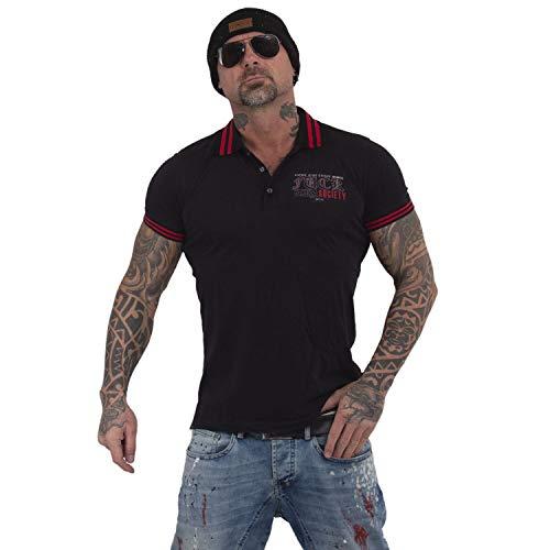 Yakuza Herren Fuck Society Pikee Polo Shirt