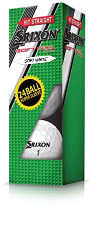 Srixon Soft Feel 10 Super Sleeve (24 Golf Balls)