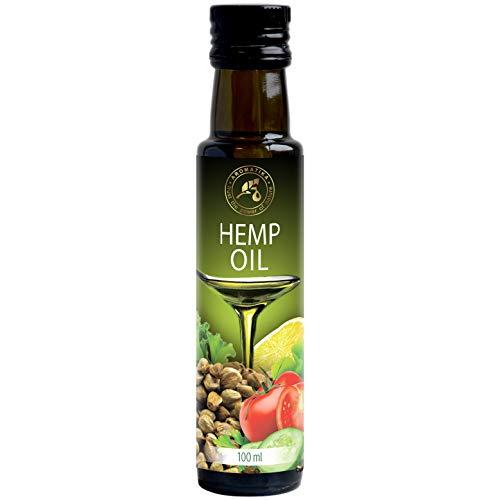 Aceite de Semillas de Cáñamo 100ml - 100% Puro y Natural - Aceite Base - Cannabis Sativa Seed Oil - Hemp oil