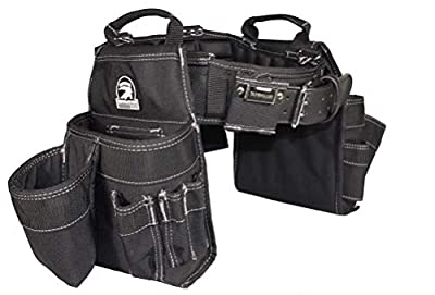 Gatorback Professional Carpenter's Tool Belt Combo w/Air-Channel Pro Comfort Back Support Belt. from Contractor Pro
