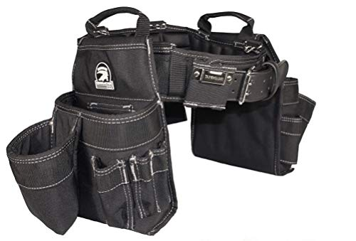 Gatorback Professional Carpenter's Tool Belt Combo w/Air-Channel Pro Comfort Back Support Belt. (Large 36-40 Inch Waist)