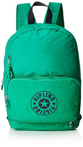 Kipling CLASSIC NIMAN FOLD Casual Daypack, 49 cm, 21 liters, Green (Lively Green)