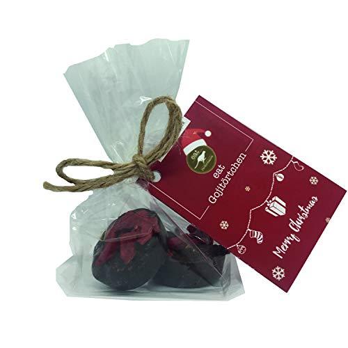 eat Performance® Paleo Goji Törtchen (40g) - Bio, Paleo, Vegan, Weihnachtsprodukt, Ohne Zuckerzusatz, Glutenfrei, Laktosefrei, Schokolade Aus 100% Natürlichen Bio Zutaten