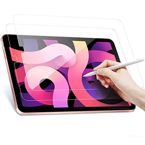 Mizi Tempered Glass Screen Protector for iPad Air 4 10.9 inch (4th Generation, 2020 Model)(Anti 8 Radiations, Anti Blue Light Filter)(Compatible with Apple Pencil)(2 Pack)