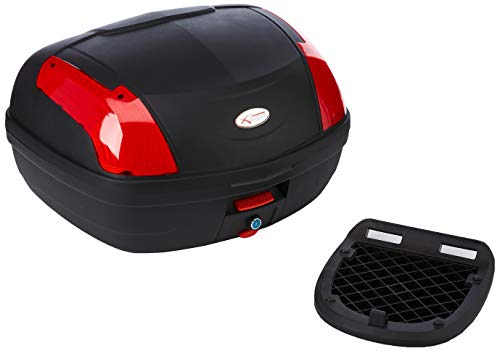 A-pro Top Case Caja 46lt universal Quick Rlease Motorcycle Scooter Luggage