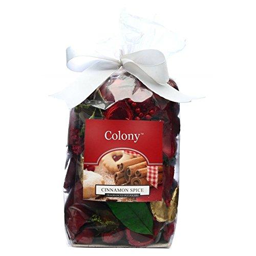 Wax Lyrical - parfum d'interieur pot pourri cinnamon spice rouge large