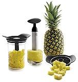 Lacor 60393 Kit pour éplucher et découper Les Ananas