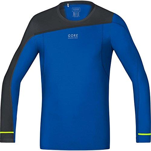Gore Running Wear, Maglia Corsa Uomo, Maniche Lunghe, Ultra Leggera e Traspirante, Gore Selected Fabrics, Fusion Long, SLSULT