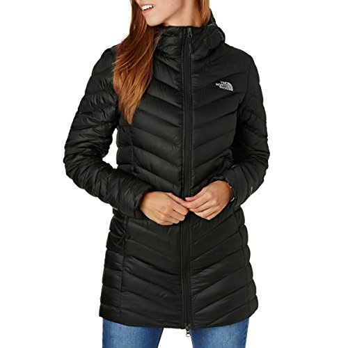 The North Face W Trevail Parka, Giacca Donna, Nero (TNF Black), M