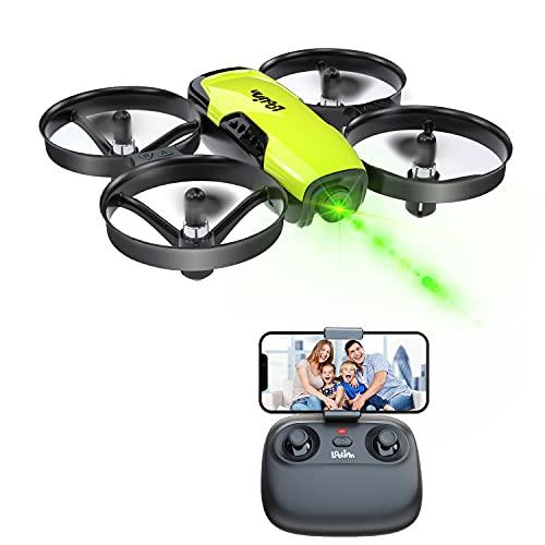 Loolinn | Drone Giocattolo con Telecamera per Bambini - Mini Quadricottero Radiocomandato con Videocamera Orientabile, Trasmissione in Tempo Reale di Foto e Video in FPV ( Idea Regalo )