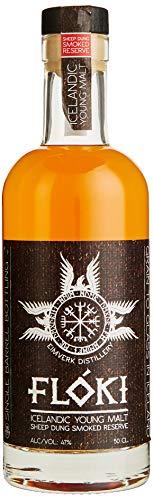 Flòki Icelandic Young Malt Sheep Dung Smoked Reserve Whisky (1 x 0.5 l)
