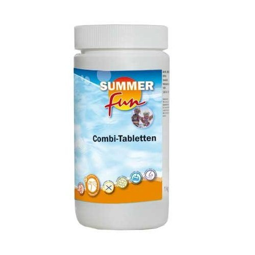 Summer Fun 502010761 Combi Tablette ( Algen, Flock, Chlor ), 1.2 kg
