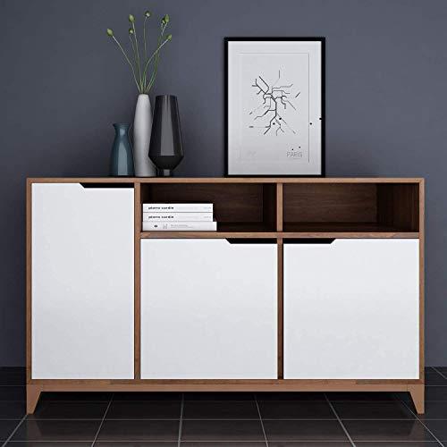 KINLO Möbelfolie Verdickung PVC 5x0.6M Matt weiß selbstklebend Möbel verschönen ohne Glanz Dekofolie Wasserdicht Stickerfolie für Schrank