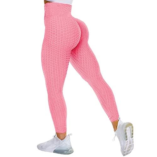 QTJY Leggings sin Costuras para Mujer, Pantalones de Yoga Push-up elásticos y de Secado rápido, Cintura Alta, Sentadillas, Leggings para Correr LL
