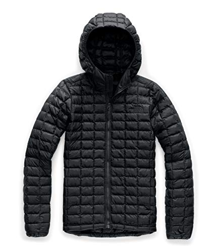 The North Face Women's Thermoball Eco Hooded Jacket, TNF Black Matte, 2XL